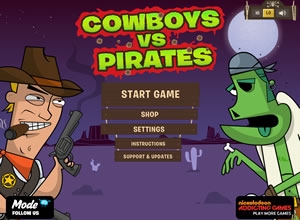 Cowboys vs. Pirates thumb